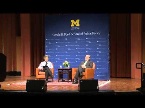 .@fordschool - A Conversation with Federal Reserve Chairman Ben Bernanke
