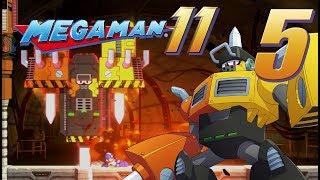 Let's Play Mega Man 11 part 5 (Mega Man 11 is just Mega Man 1)