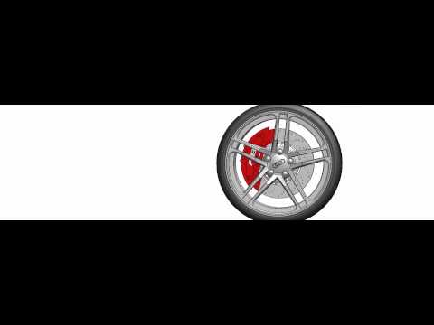 Audi R8 Wheel Animation