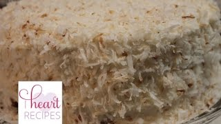 Coconut Cake From Scratch - Moist, Light, And Fluffy | I Heart Recipes