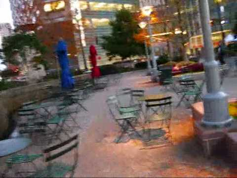 Detroit: Campus Martius in the Early Morning