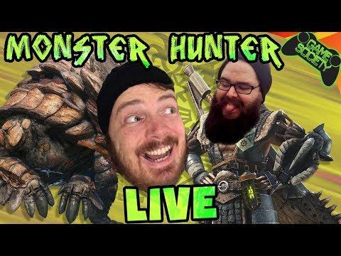 Monster Hunter World LIVE - Game Society