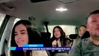 ¡Súbale! Taxista De Ucrania Ofrece Viajes Gratis A Cambio De Cantar En Su Auto