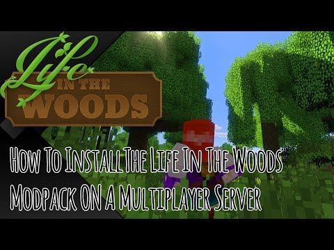 Tutorial How To Install Life In The Woods On A Multiplayer Server - Minecraft server erstellen ohne portfreigabe