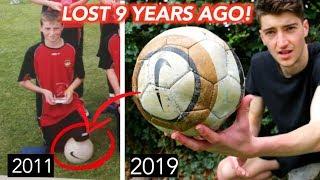 I Found a FOOTBALL I Lost 9 YEARS AGO!!