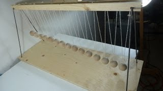 Pendulum Wave Machine Build Part 1