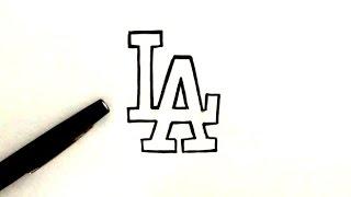Comment dessiner le Logo LA (Los Angeles)