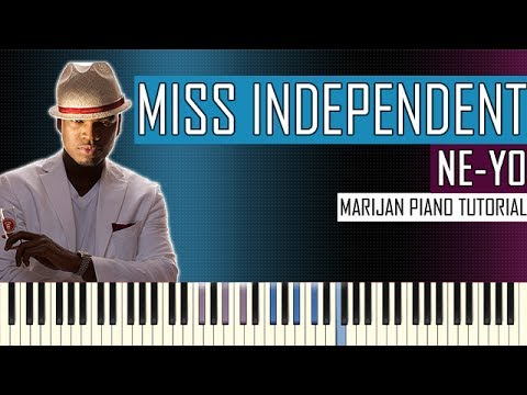 How To Play: Ne-Yo - Miss Independent | Piano Tutorial