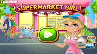 """Supermarket Girl Tabtale """"Unlock All + No ADS"""" Android İos  Free Game GAMEPLAY VİDEO  PART 2"""