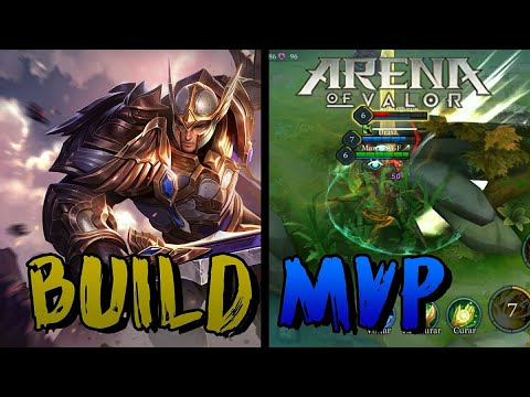Arena of Valor - Thane - Build MVP - Tanka Tudo