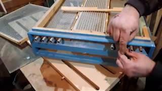Конструкция пыльцеуловителя для многофункционального дна. конструкция