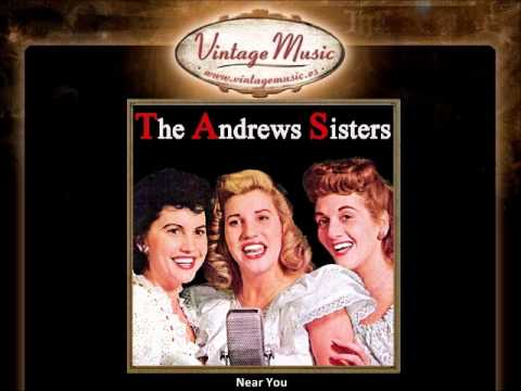 THE ANDREWS SISTERS CD Vintage Vocal Jazz. Carmen's Boogie , Near You , Daddy