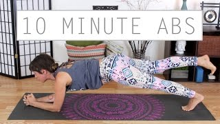 10 Minute Ab Workout - Intense Tighten & Tone Core Strengthening Flow