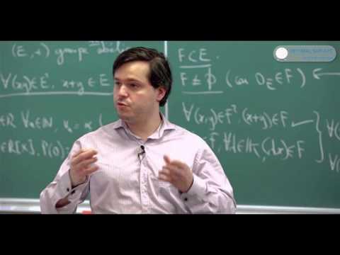Espaces Vectoriels. Cours Math Sup, Math Spé, BCPST.