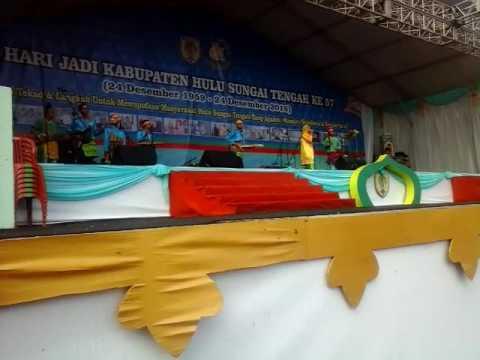 Saradipa Etnic - Kambang Goyang LIVE Puncak MILAD HST ke 57 Barabai