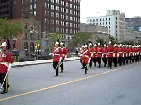 Royal Canadian Dragoons Parade