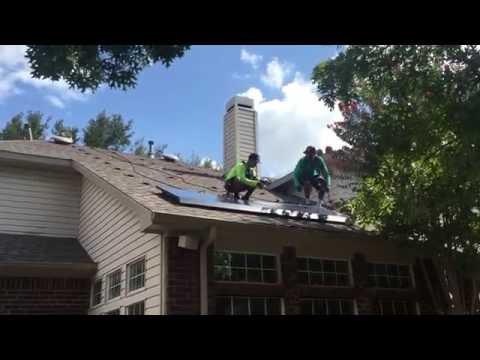 Texas solar installation RM