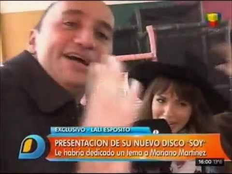 Lali Espósito le dedicó canciones a Mariano Martínez y Benjamín Amadeo