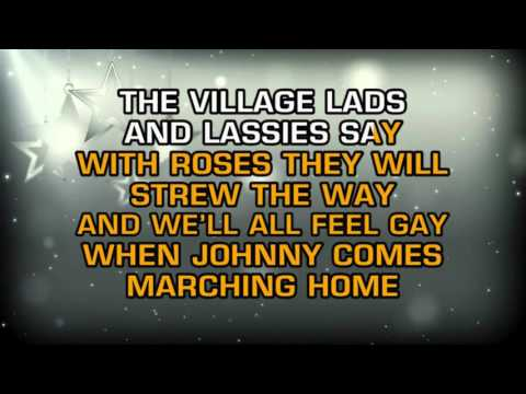 Children's Toddler Tunes - When Johnny Comes Marching Home Again (Karaoke)