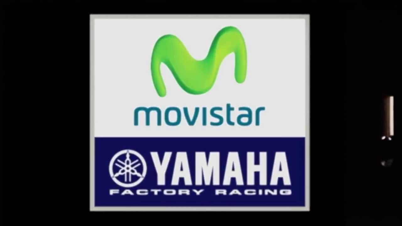 Movistar Yamaha MotoGP - New Team Logo Unveiling - YouTube