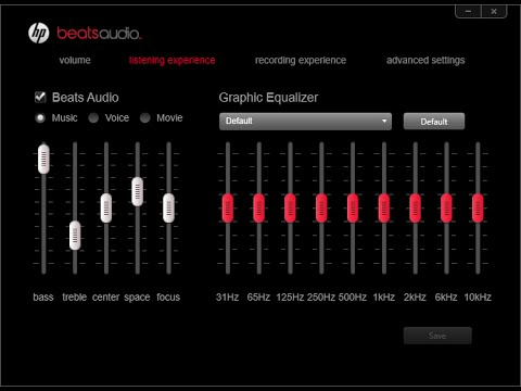 beats audio laptop driver