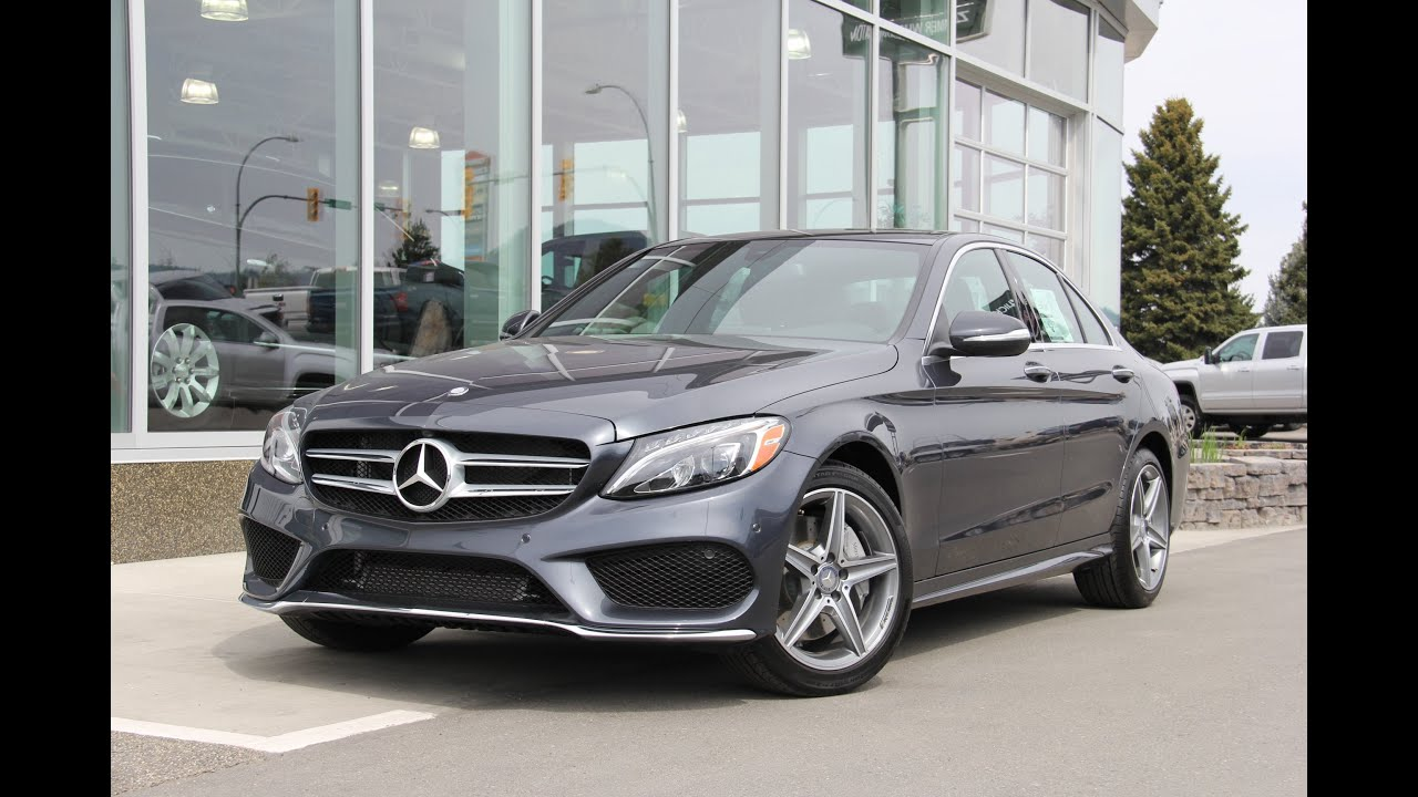 2015 c300 4matic for sale youtube for 2015 mercedes benz c300 4matic