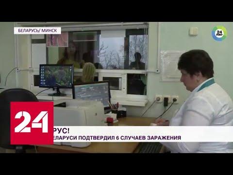 Двенадцать заболевших коронавирусом в Белоруссии: инфекцию выявляют на въезде в страну - Россия 24