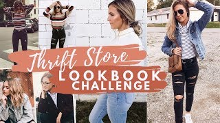 THRIFT STORE HAUL//Thrifting Challenge...boujee on a budget