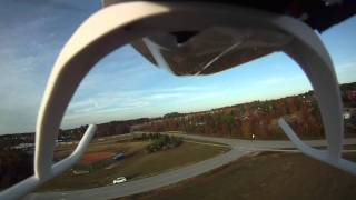 Blade 450 3D Heli with a GoPro HD camera onboard by Eric