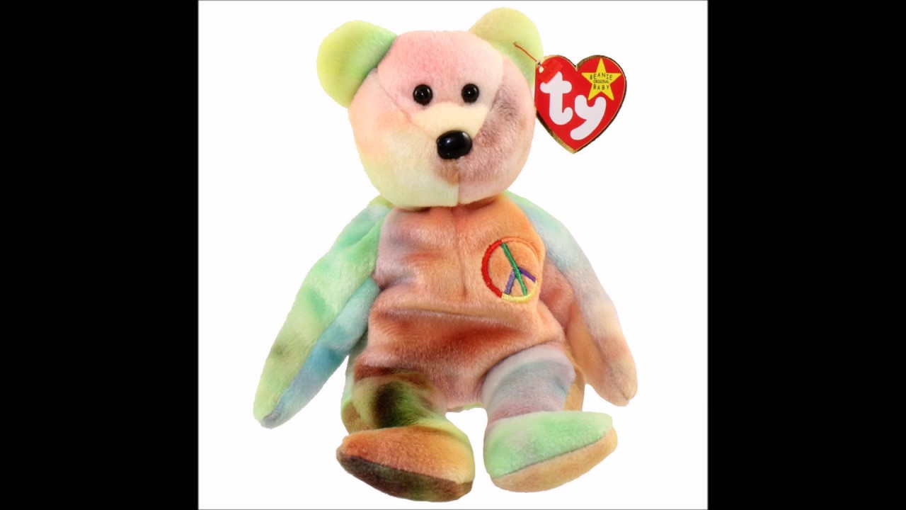 2d5c7e4ffb6 Are Garcia Bear Ty Beanie Babies Worth Money  - YouTube