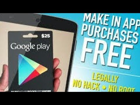 How To Get In App Purchases The Easiest Way For Free On Android No