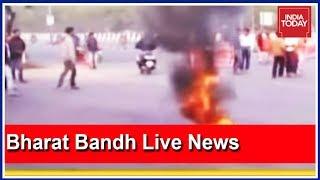 Bharat Bandh Live Updates: Violent Scenes From Odisha, Karnataka, Kerala, West Bengal