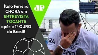 EMOCIONANTE! Ítalo Ferreira CHORA em entrevista após ganhar o 1° OURO do Brasil nas Olimpíadas!