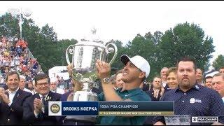 Brooks Koepka Wins 2018 100th PGA Championship