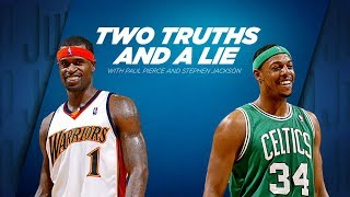 Paul Pierce Plays Two Truths And A Lie With Stephen Jackson | ESPN thumbnail