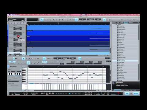 Audio to Notation 6 voice