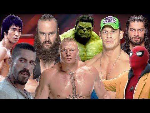 Yuri Boyka Vs Bruce Lee Vs Hulk Vs Cena Vs Reigns Vs Spider-Man Vs Strowman Vs Lesnar