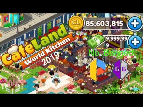 Cheat Cash+Coin Cafeland World Kitchen No Banned 2019