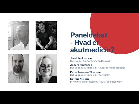 YDAM Kursusdag 7/3-21 - Akutmedicinsk Paneldebat