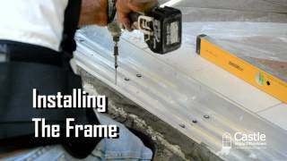 Castle Impact Windows - Sliding Glass Door Installation From Folding Shutter Corp.