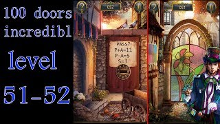 100 дверей: Невероятный мир (прохождение 51 уровня)