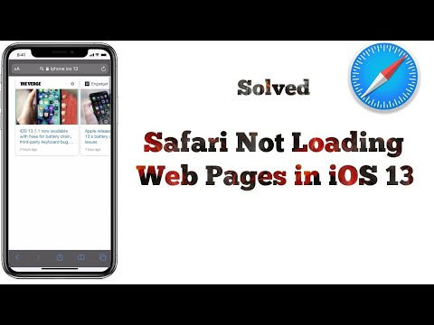 Safari Not Loading Web Pages On IPhone And IPad After IOS 13/13.3 - Fixed