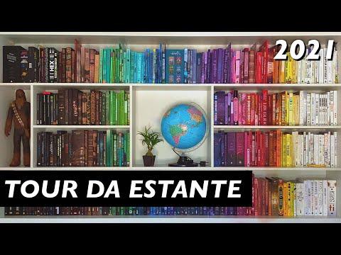BOOKSHELF TOUR 2021 – tour por todos os livros das minhas estantes 📚✨ (500+ livros)