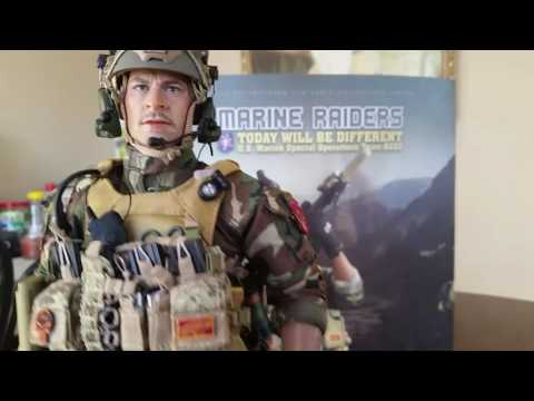 MARINE RAIDERS 1/6 SCALE MILITARY FIGURE FROM SOLDIER STORY