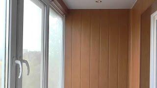 видео Утепление балкона своими руками