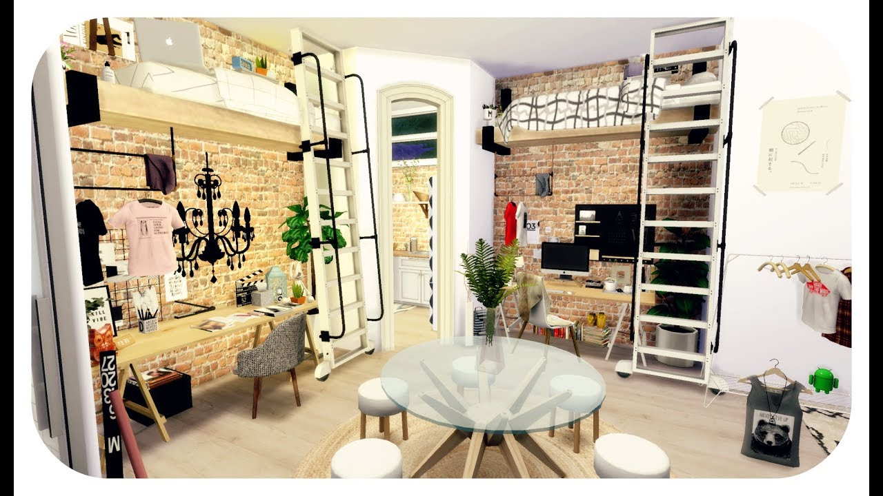 How To Make Loft Room Sims