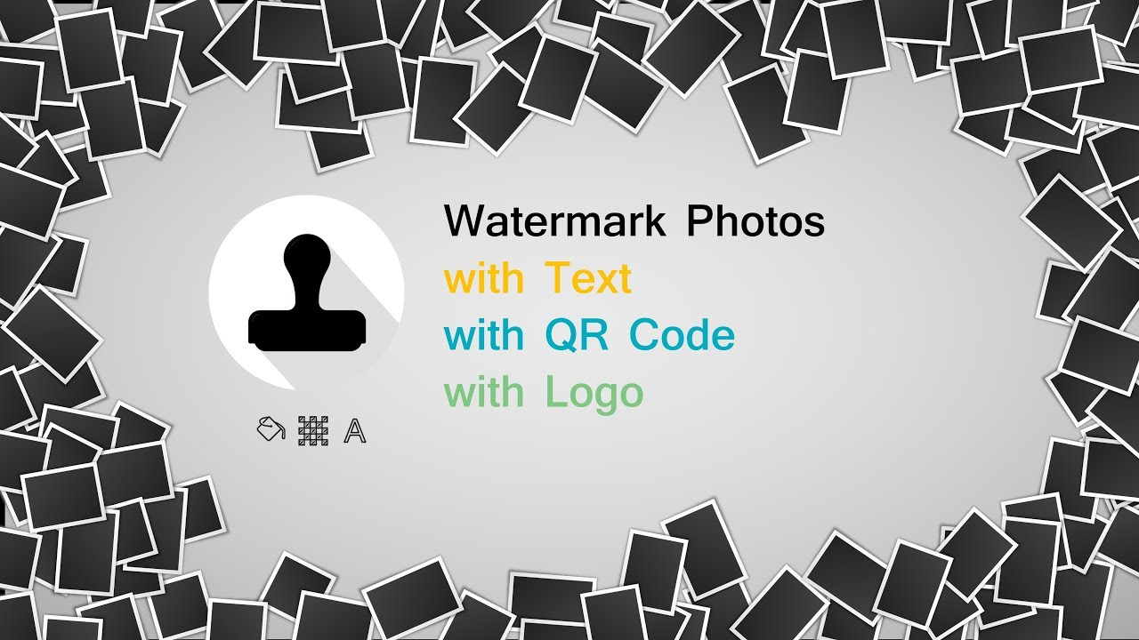 Ray Watermark - Watermark with QR, Logo, Text - YouTube