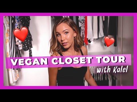 Kalel's Fall Vegan Closet Tour!