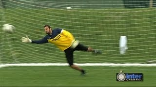 ALLENAMENTO PORTIERI INTER REAL AUDIO