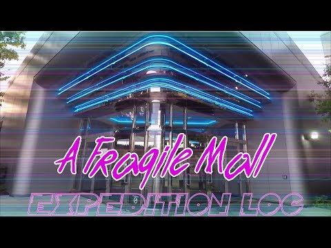 Marley Station Mall, Glen Burnie, MD - A Fragile 80's Mall With Neon Aesthetics - Expedition Log #5